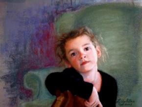 "Pastel on Sanded Paper, 16x20"""