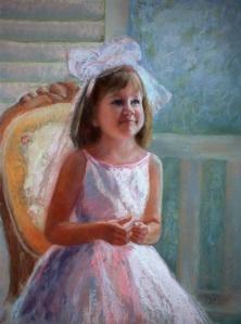 "Pastel on Sanded Paper, 24x18"""