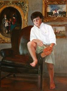 "Oil on Canvas, 24x18"""